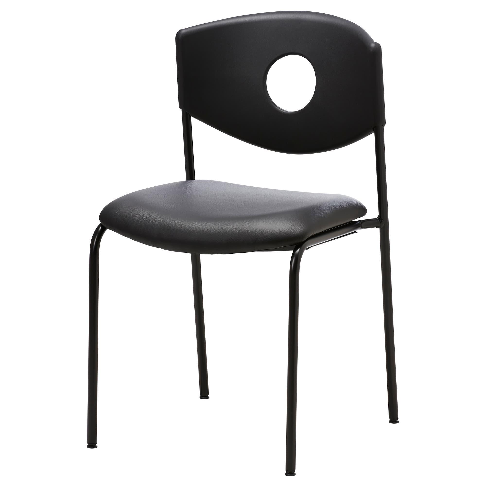 PROMO!! IKEA STOLJAN Kursi Rapat Hitam Hitam MURAH /  BUBBLE 3 LAPIS / ORIGINAL / IKEA ORIGINAL