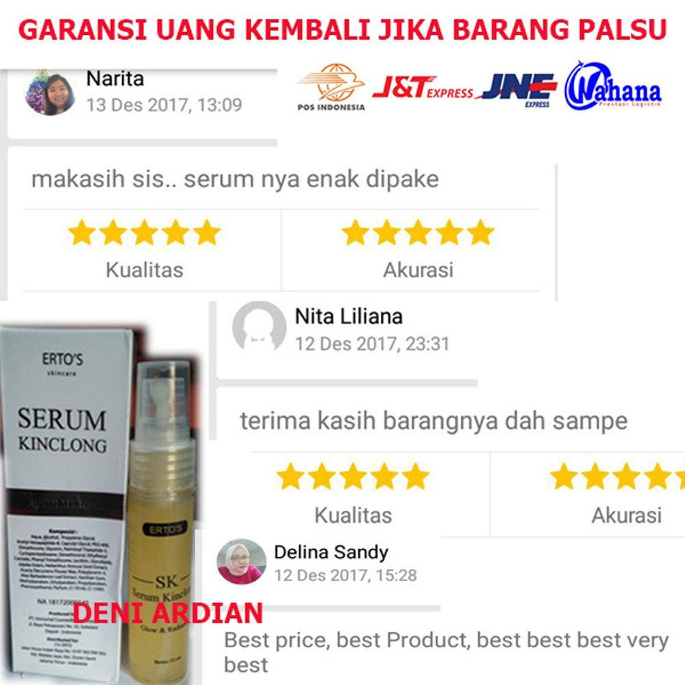 Buy Sell Cheapest Ertos Kinclong Putih Best Quality Product Deals S Facial Treatment Serum Wajah