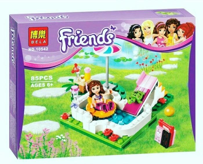 Lego Bela 10452 - Friends - Olivia's Garden Pool