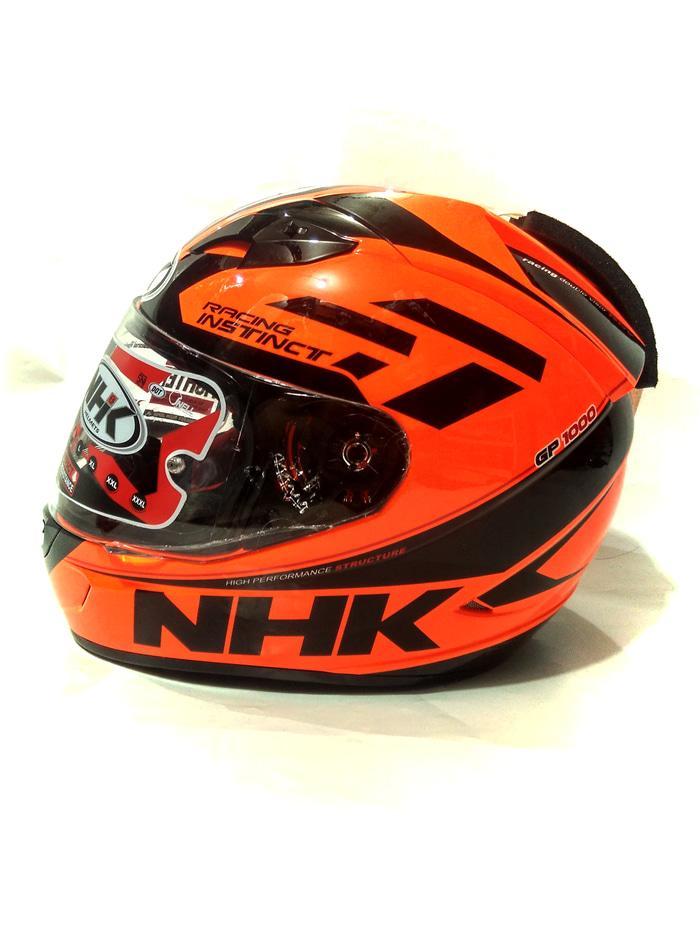 Exclusive Helm Nhk Gp1000 Special Edition orange flou