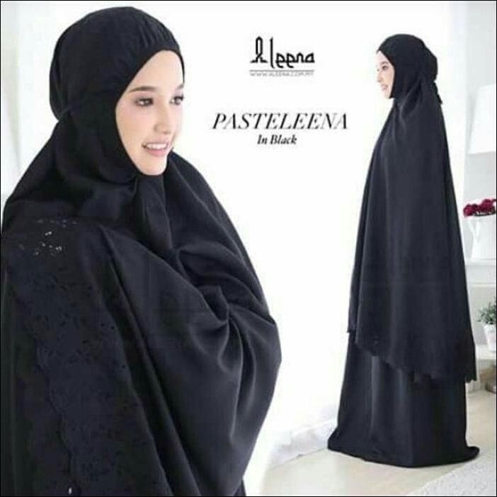 Seri terbaru Mukena katun mukena polos mukena bordir Siti Khadijah mukena jumbo adem nyaman dan tidak menerawang