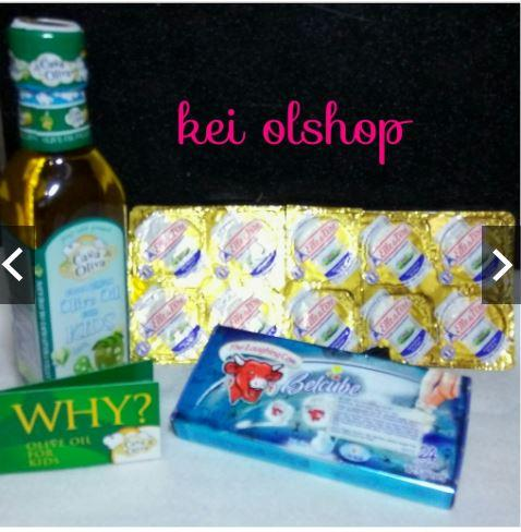 Paket Lengkap Mpasi / Evoo For Kids 250ml + 10 Cup Unsalted Butter + Keju Belcube 24 Cubes By Kei Olshop Store.