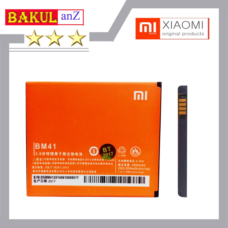 Baterai Handphone Xiaomi Redmi 1s - Redmi 2 BM41 ORIGINAL - Batu Batre Hp Xiaomi BM 41 Original