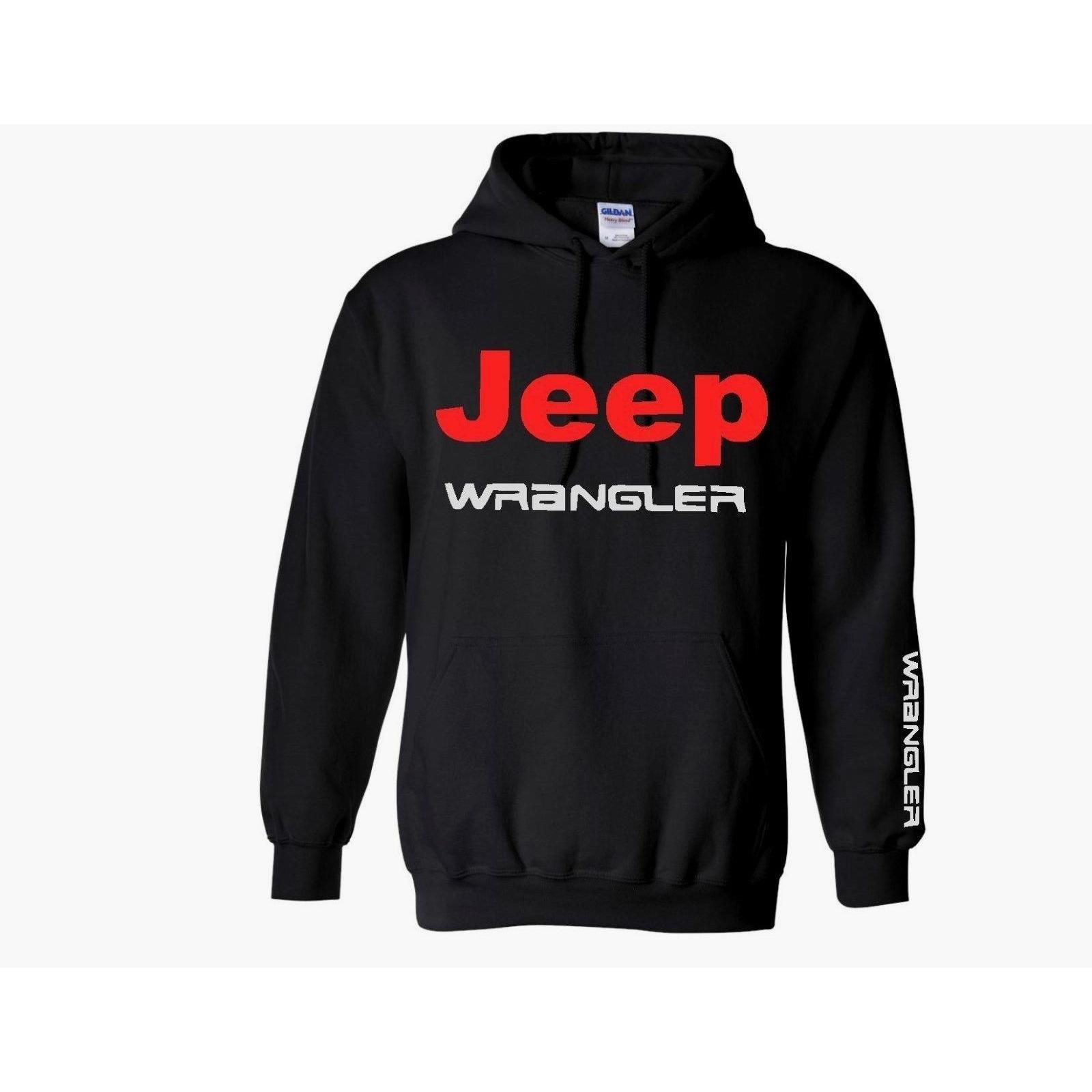 Jaket Hoodie Jeep Wrangler