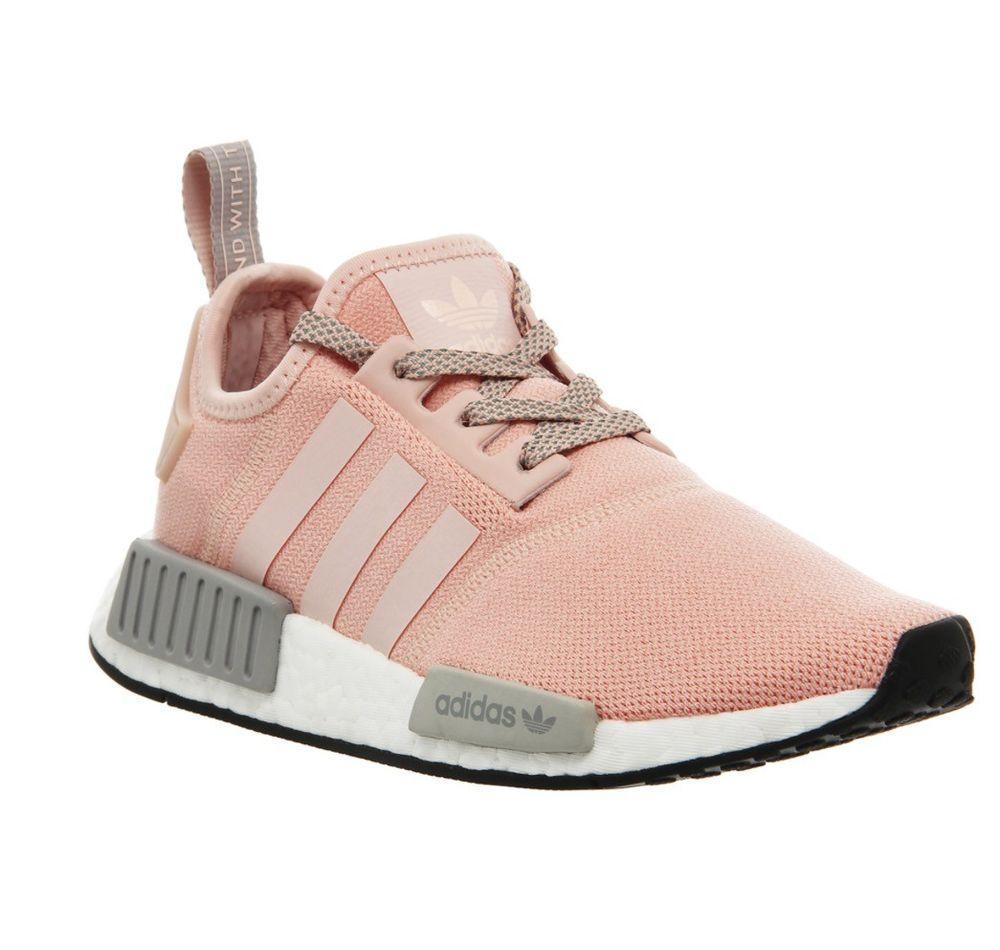 Adidas NMD R1 W Pink Sepatu Sneakers Wanita - BY3059