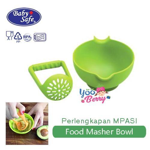 Baby Safe Food Masher Bowl Mangkok Grinder Perlengkapan Mpasi Bayi Yooberry All Time Bestsellers By Yooberry.
