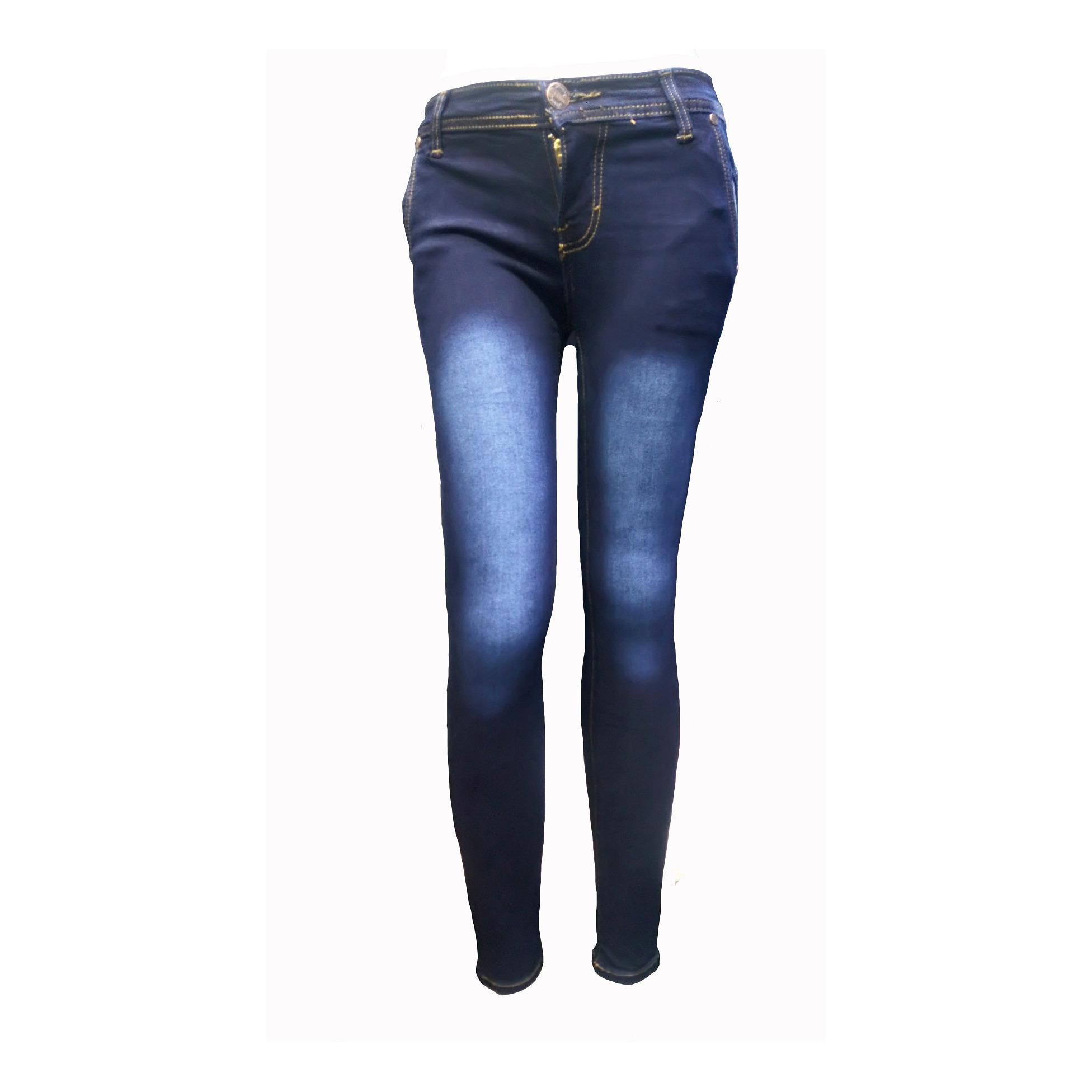 NJ Nuriel Jeans – Celana Jeans Wanita – Denim Premium Quality – New Arrival Skinny Pensil – Navy  – Size 27-30