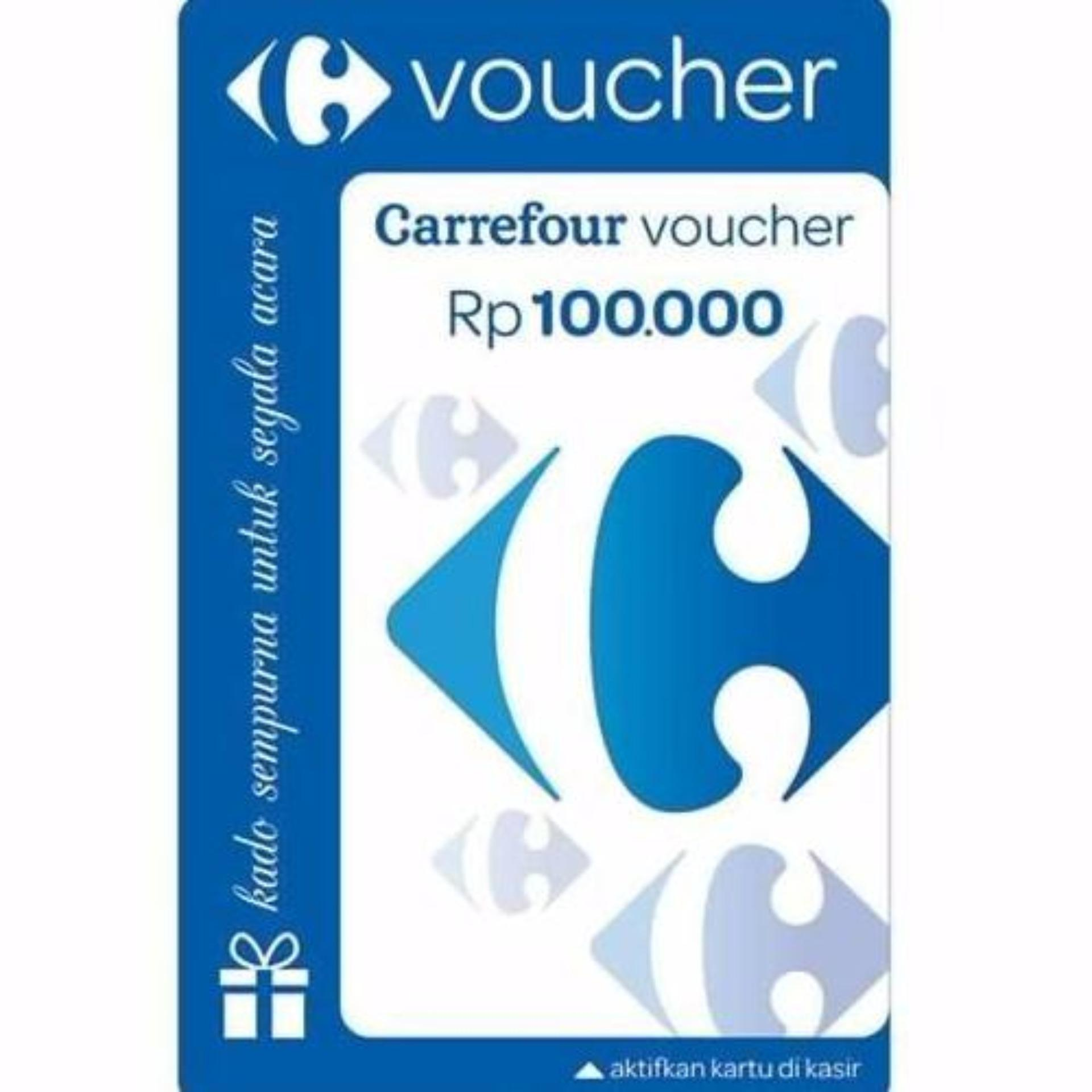 Voucher Carrefour nominal 500rb