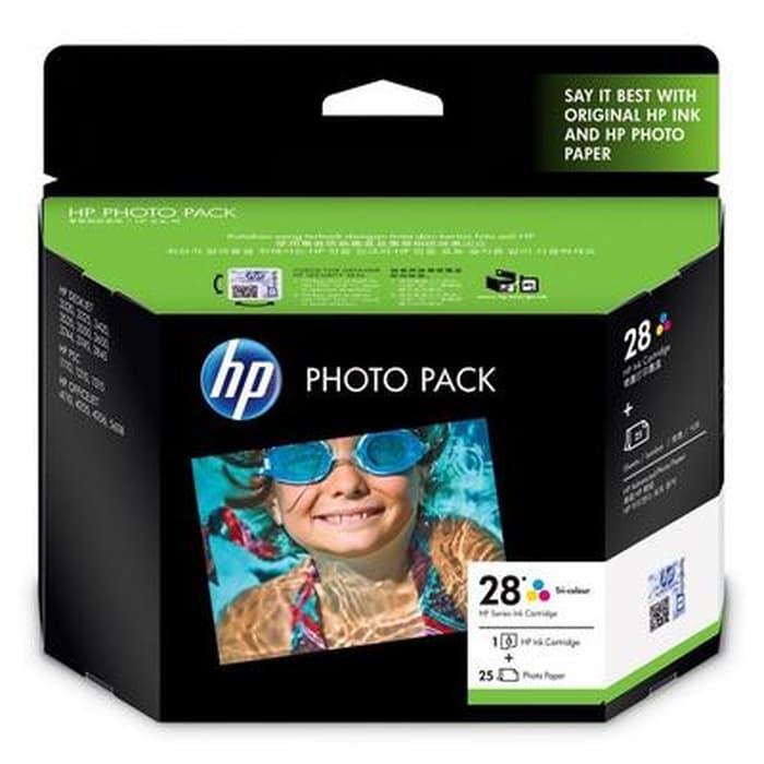 Tinta HP Original Tri Color Photo Pack 28-Q8893AA Ink C
