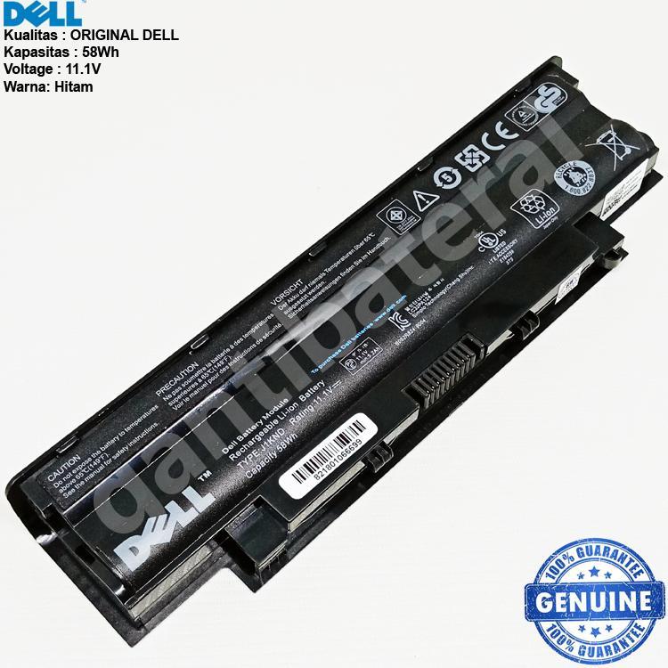 Baterai Laptop Dell Inspiron 13r 14r N4010 N4050 N4110 N5010 N7010 M5010 M5030 J1knd By Gantibaterai.
