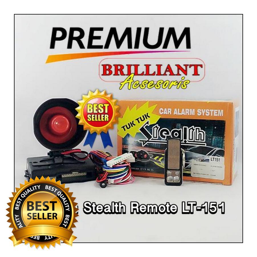 Otomobil Alarm Mobil Premium Tuk Tuk Set Komplit Kunci Remote Source Mobil remote control kulit penuh