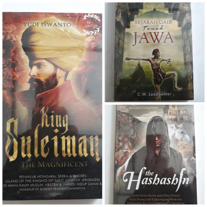 Books Choice King Suleiman Sejarah Gaib Tanah Jawa Dan The Hashashin