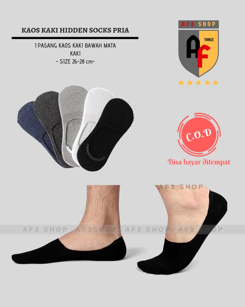 Buy Sell Cheapest Kaos Kaki Premium Best Quality Product Deals Motif Polos 01 Hidden Socks Tidak Terlihat Bawah Mata