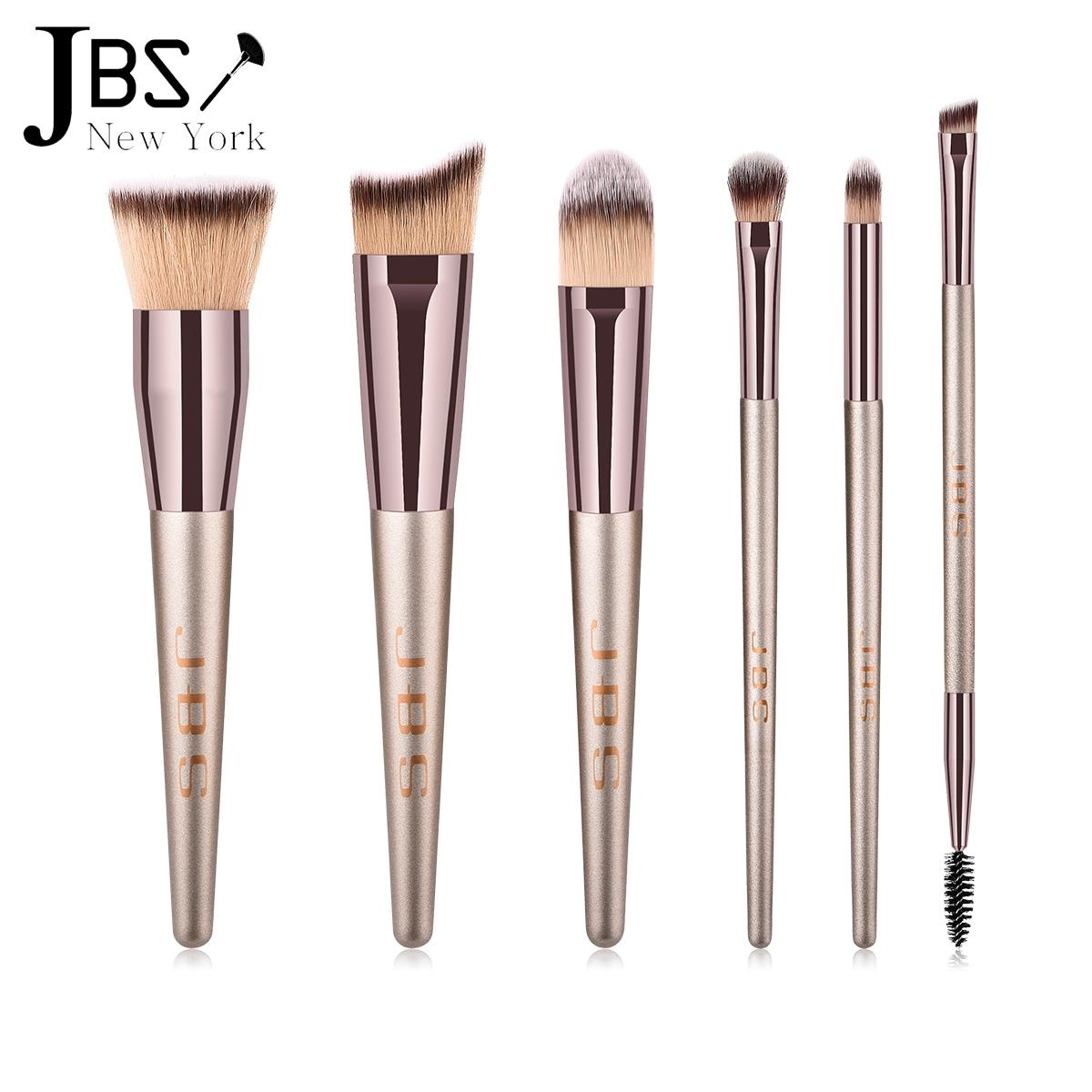 JBS New York Kuas Makeup Brush 6 Set - Make Up Set / K069