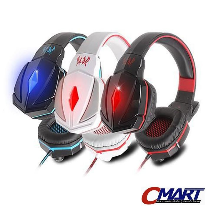 Kotion Headset Gaming Each G4000 with LED Gamers Headphone - KTN-G4000
