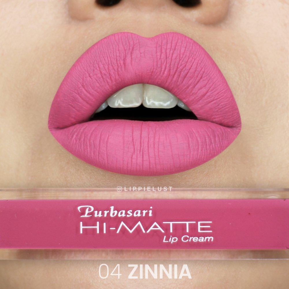 Purbasari Hi Matte Lip Cream 04 Zinnia