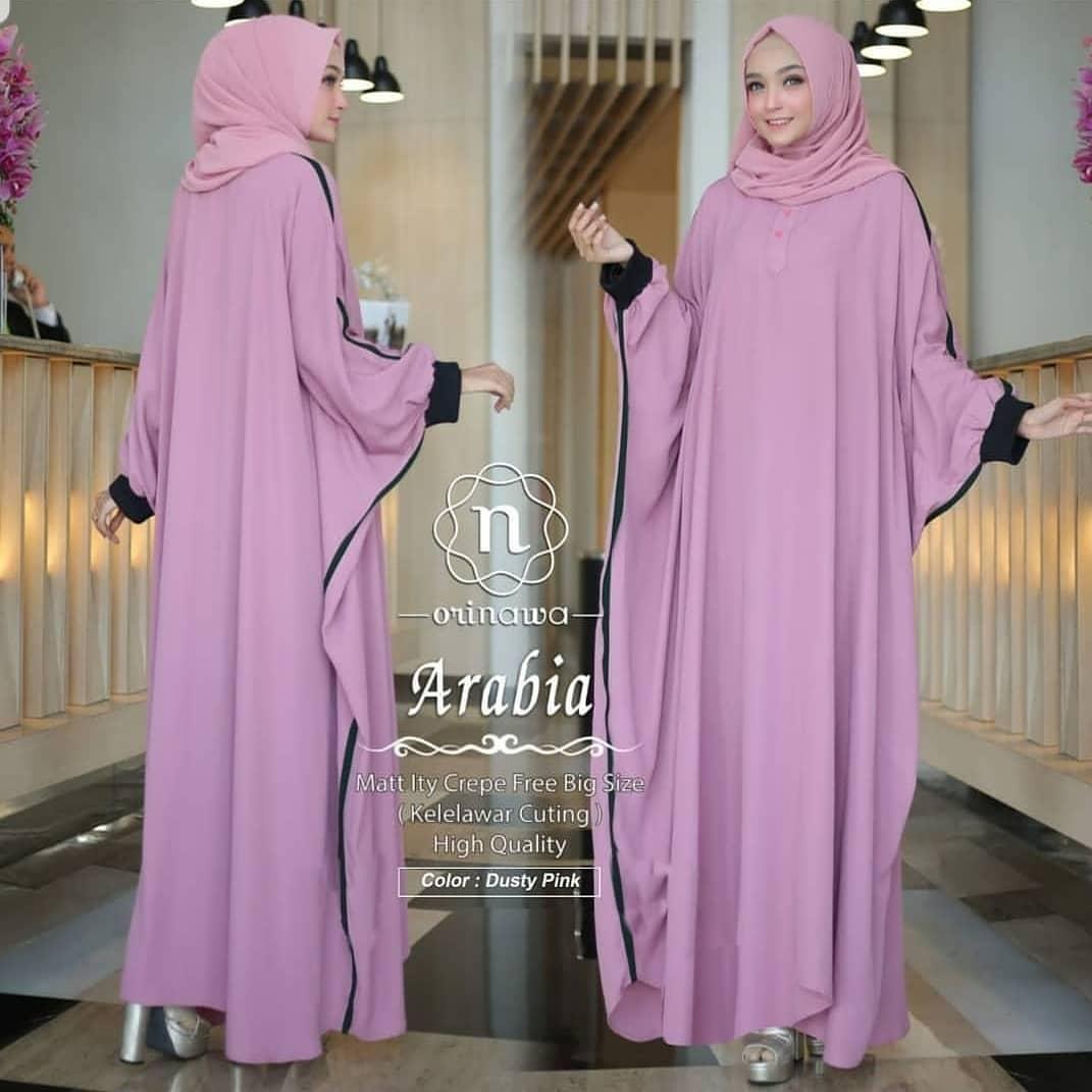 New Arabia Kaftan // Baju Gamis // Dress Wanita