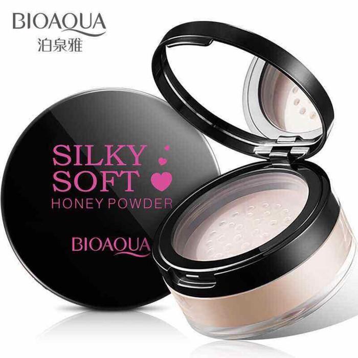 AU - Bioaqua Silky Soft Honey Powder / Bedak Tabur - Multicolor