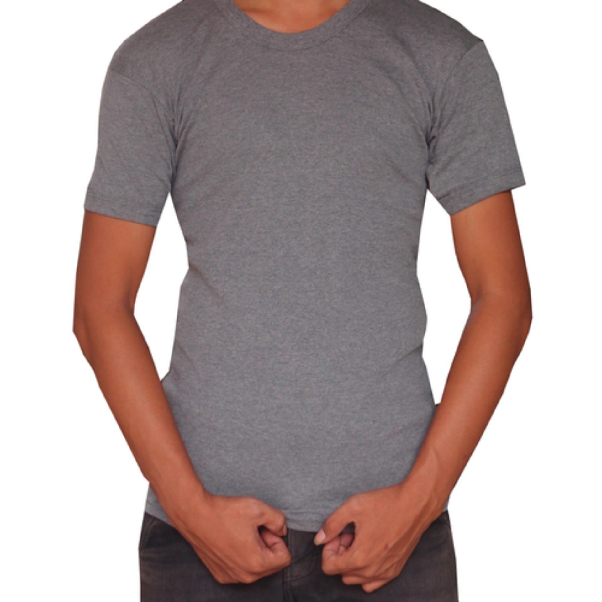 Polosqu Grosir Kaos Polos /Daleman /T shirt /Oblong pria