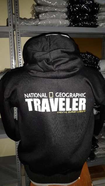 HARGA PROMO!!! Jaket Hoodie National Geographic Traveler - eJdLGI
