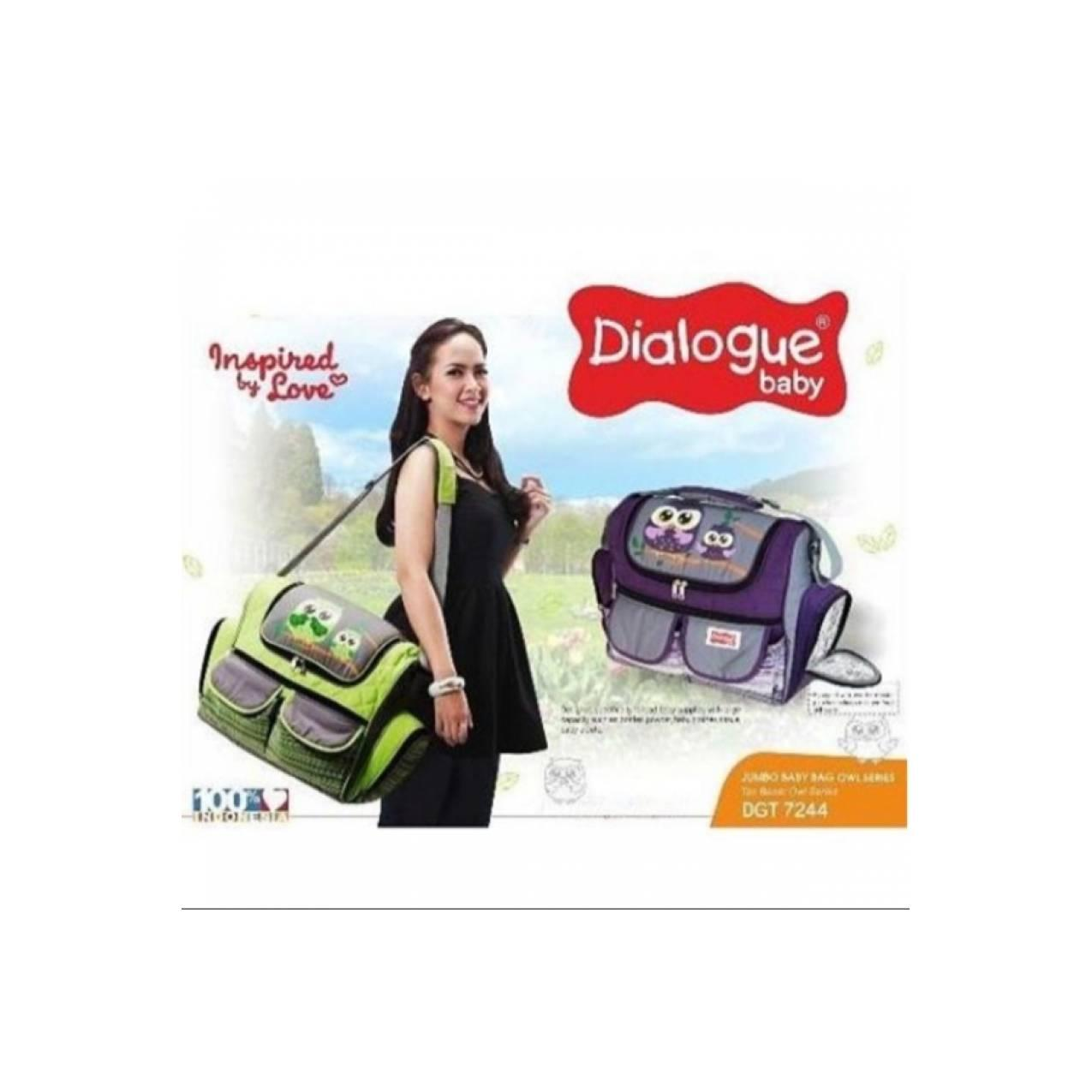 Jual Dialogue Tas Besar Jumbo Bonus MiniBag Owl Series DGT 7237
