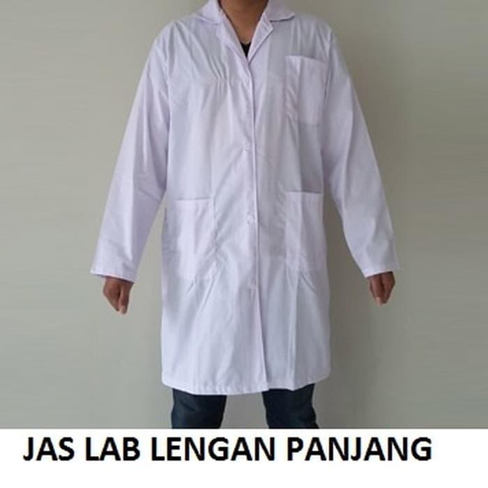 Promo Jas Lab Lengan Panjang  Import High Quality