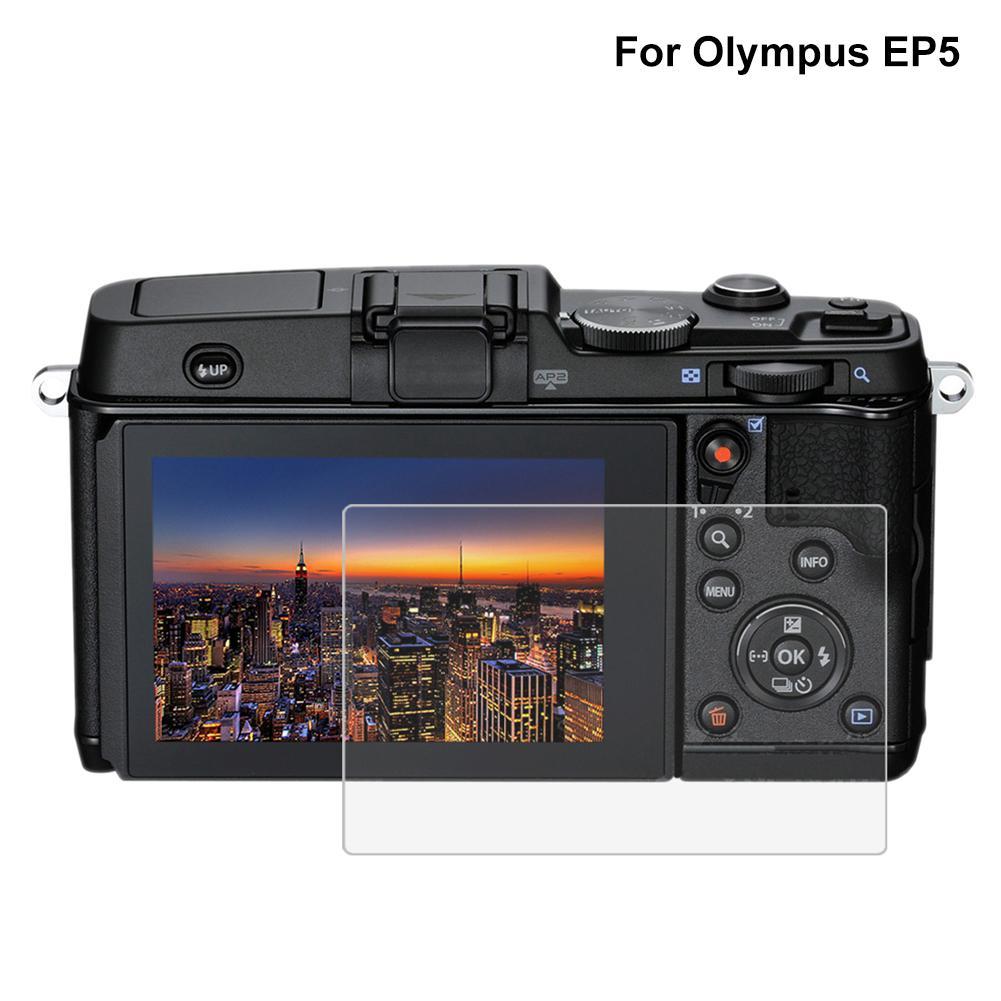 0.3 Mm 9 H Jelas Kaca Antigores Pelindung Layar 2.5D Digital LCD Kamera Film untuk EP5