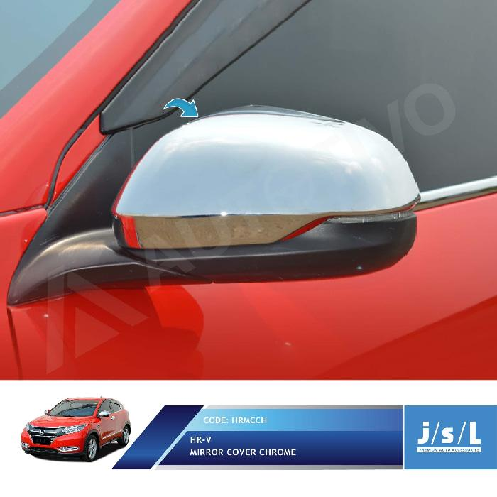 Honda HRV Cover Spion JSL Krom/Mirror Cover Chrome/Aksesoris Mobil