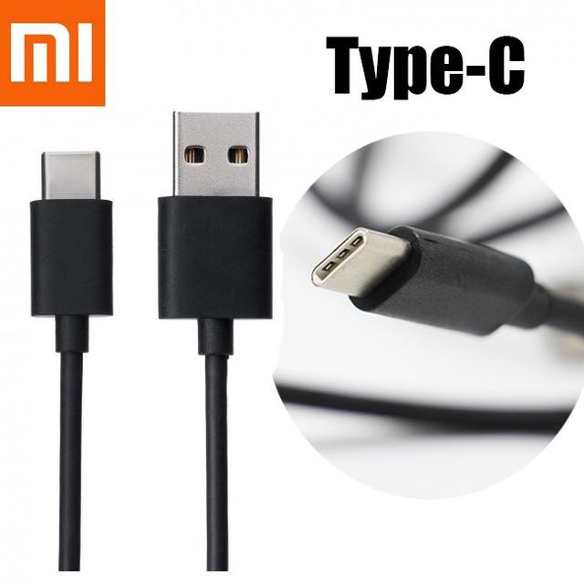 Kabel Data Xiaomi Type C - Charger Cable ORI Xiomi Tipe C Mi A1 Note 2 3 Max2 Mi4C Mi5 Mi6