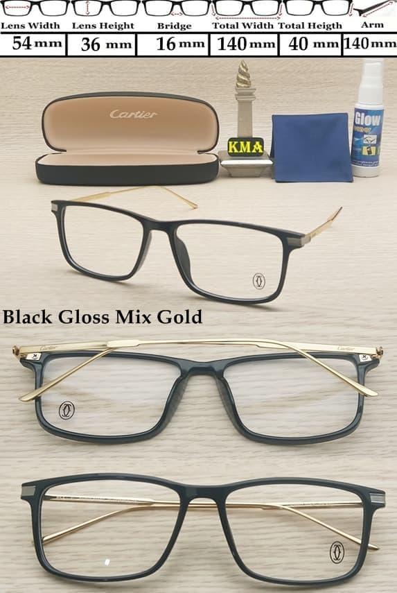 kacamata minus CARTIER frame kacamata minus frame premium