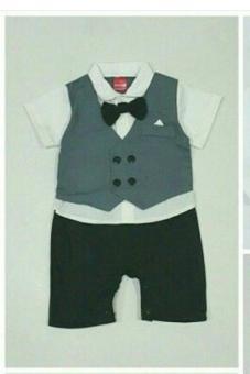 Bandingkan Toko Romper Formal Bayi - Baju Anak Eksekutif Jumper Bayi jas rompi baju pesta bayi