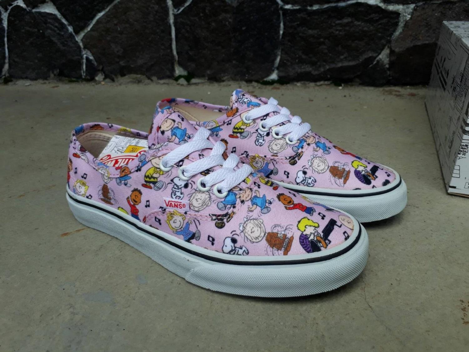 vns authentic peanuts dance party pink wafle icc