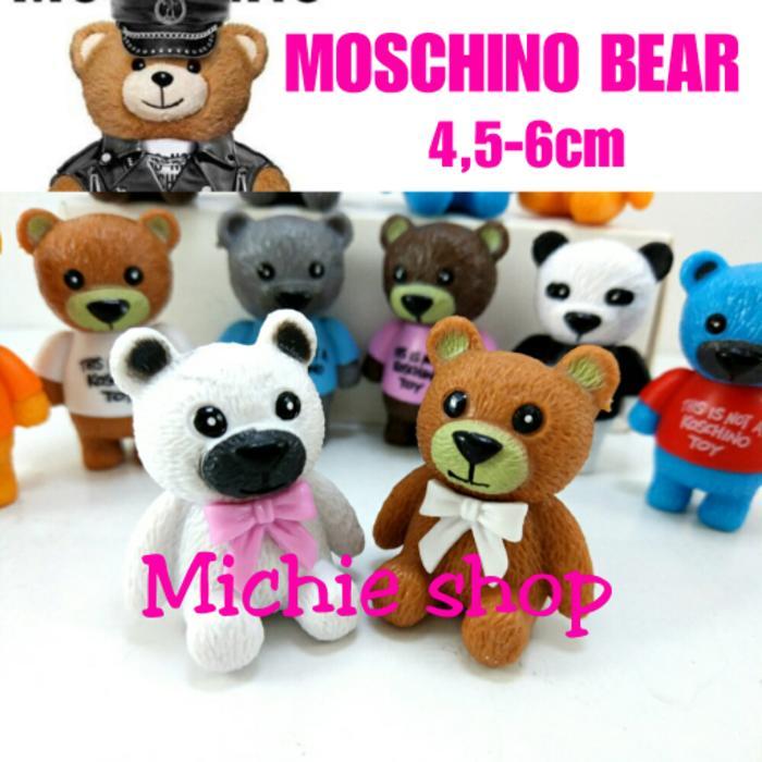 [PROMO] Figure Moschino Bear 12pcs MURAH