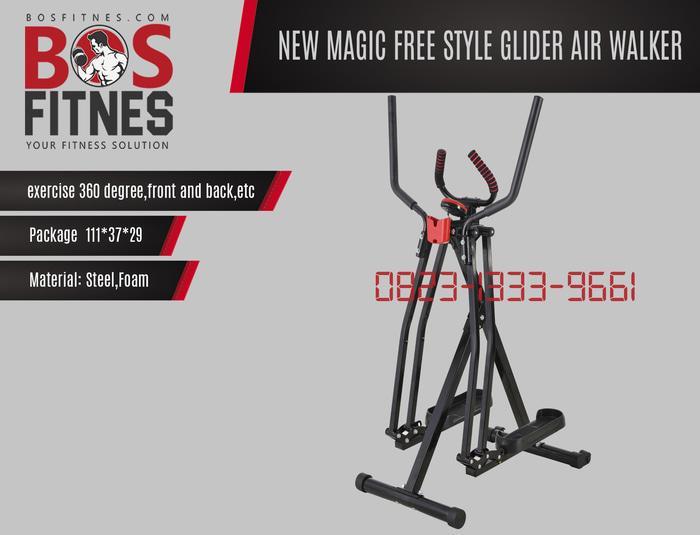 Harga Diskon!! Freestyle Glider Airwalker Terbaru Purwokerto - ready stock