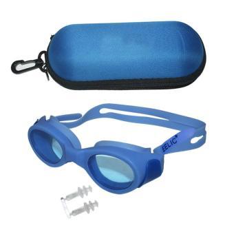 Harga preferensial EELIC KAR-9600 Kacamata Renang Untuk anak-anak max 10 tahun Anti Radiasi Dengan Tutup Telinga terbaik murah - Hanya Rp24.786
