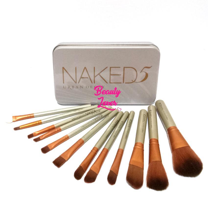 [N5 Besar isi 12] Beautylover 12 Kuas Makeup Set 12 Pcs - Make Up Brush N5