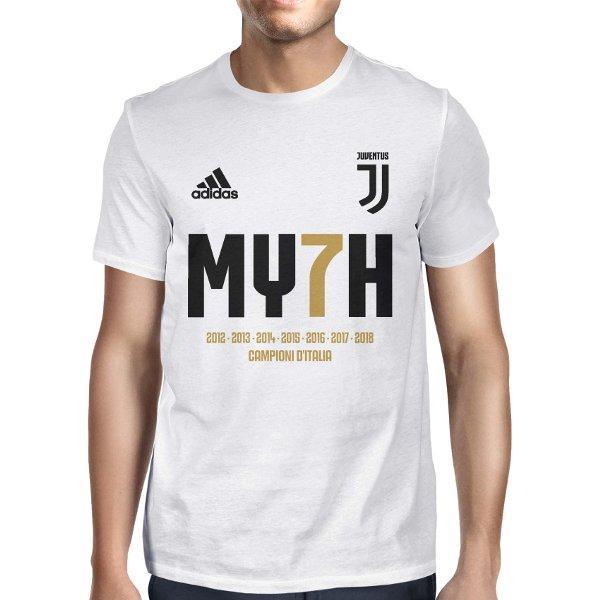 Kaos Juventus MY7H Myth Champions 2018 C01 Putih Big Size XXXL Jumbo