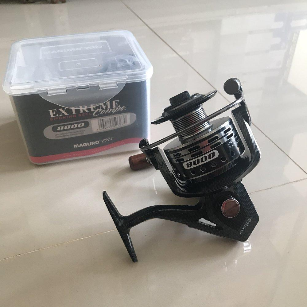 Reel Maguro Extreme Compe 8000 TERBARU BOS PANCING zerya_fishing