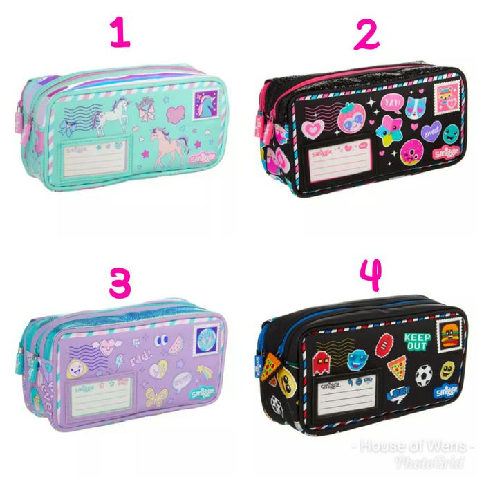 Hot Promo! Smiggle Hits Post Pencil Case - Tempat Pensil Smiggle - Garansi Asli