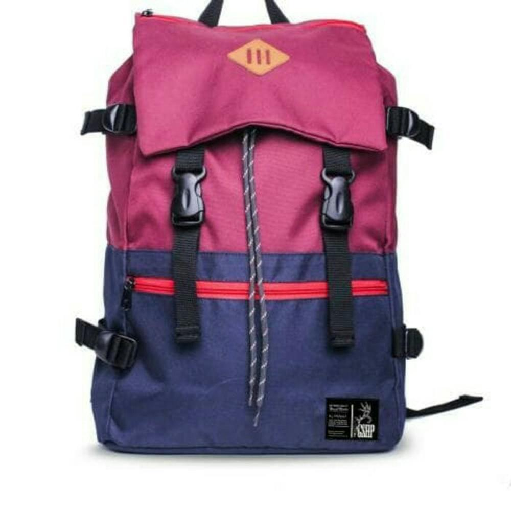 Promo Tas ransel distro pria backpack Laptop tas punggung tas sekolah tas bandung 9385 RZY Fashion