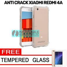 Softcase Silicon Anti Shock / Anti Crack Elegant Softcase for Xiaomi Redmi 4A - White Clear