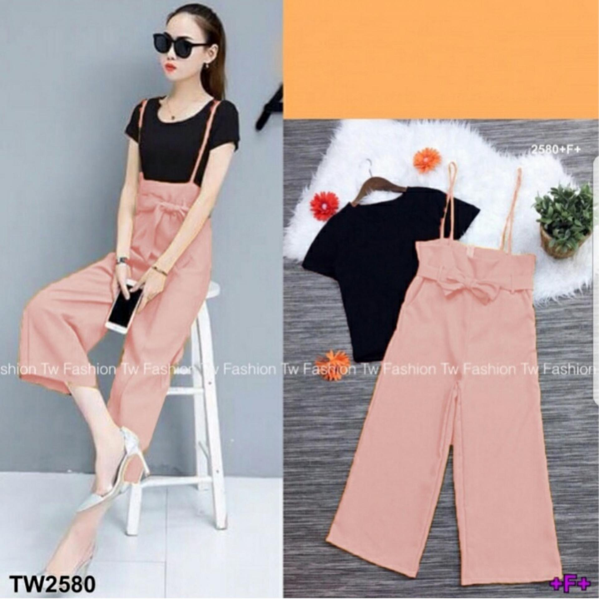 Shopping Yukz Jumpsuit Wanita LIO ( Tanpa Kaos ) / Jumpsuit Celana / Baju Terusan Wanita