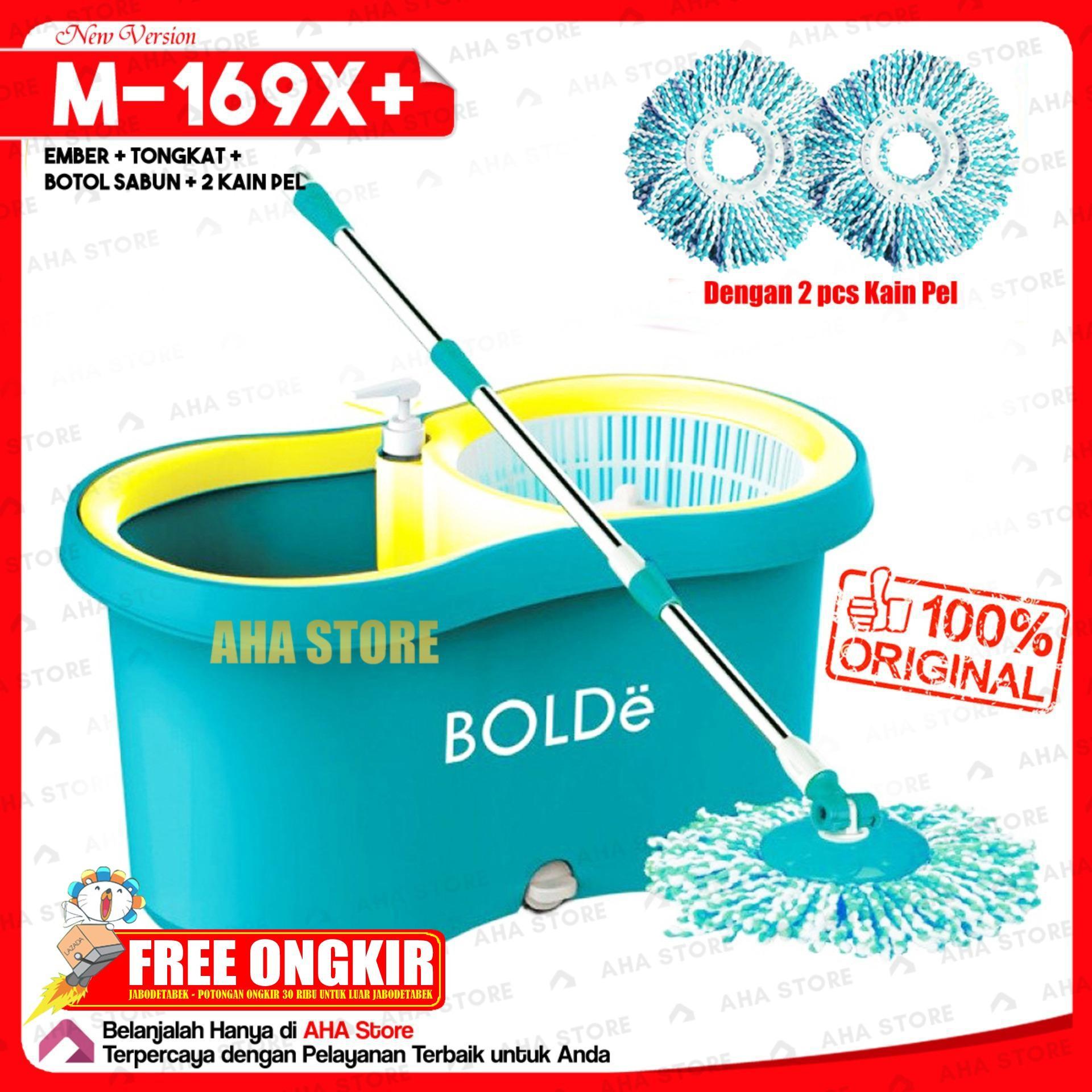 Bolde Super Mop M-169X+(New) Alat Pel Lantai - Biru