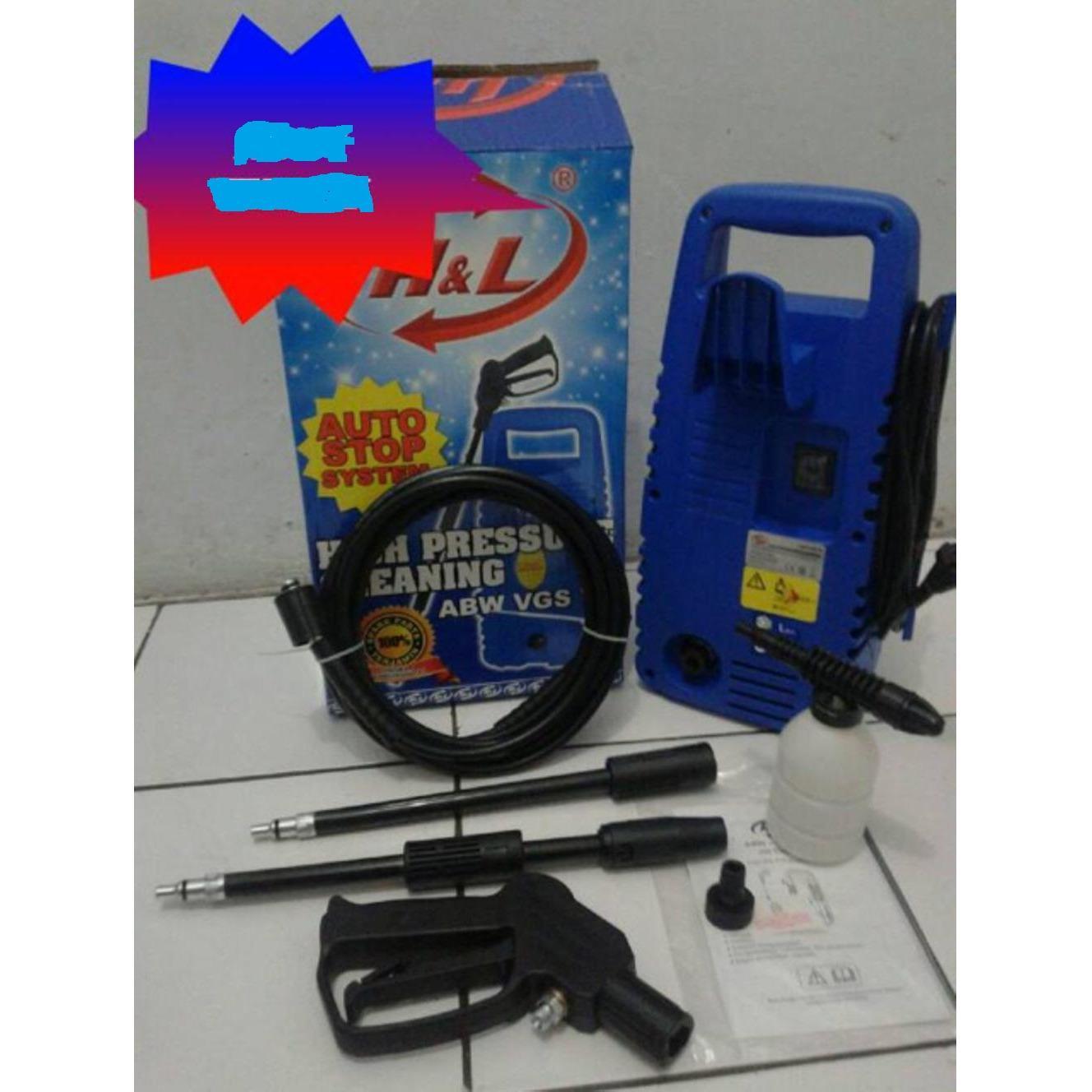 Best Seller ! Alat Mesin Steam Cuci Motor & Mobil Jet Cleaner High Pressure ABW VGS 70
