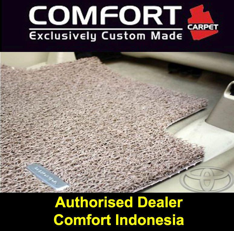 Karpet Mobil COMFORT Mazda 8 3baris Deluxe BROWN (cokelat) original