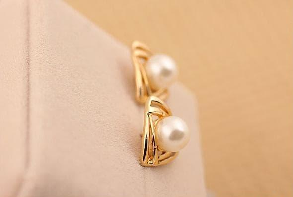 PROMO SAAT INI anting mutiara korea pearl earrings korean fashion earring jan117 TERLARIS