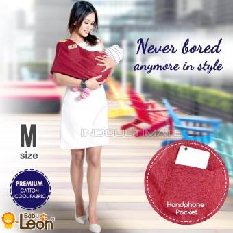 Pencarian Termurah Premium Gendongan Kaos Baby Leon Cotton/Geos/Selendang Katun/Slendang Bayi