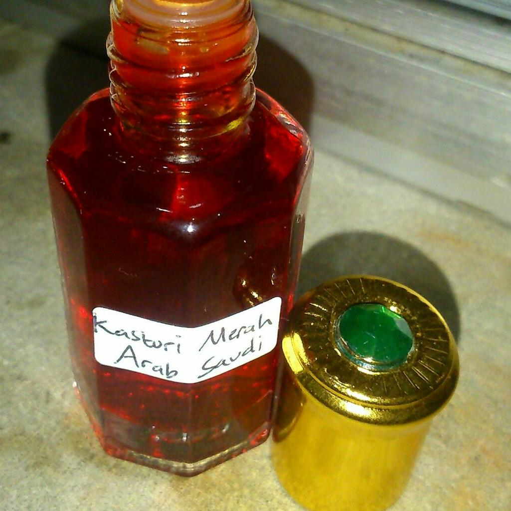Minyak kasturi merah garansi original