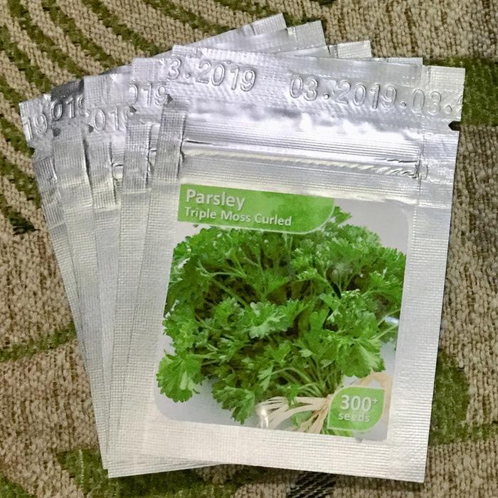 SPESIAL Benih Bibit TERBARU Paterseli Parsley Triple Moss Curled