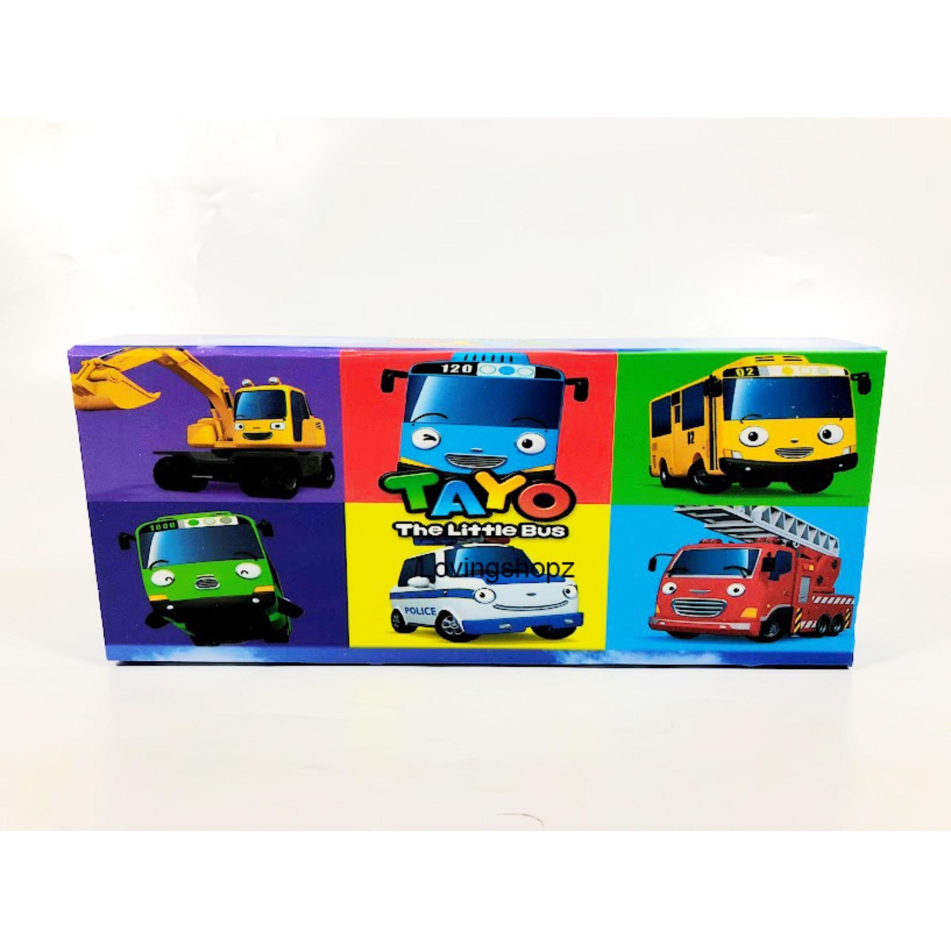 Kotak Pensil Kayu The little bus tayo